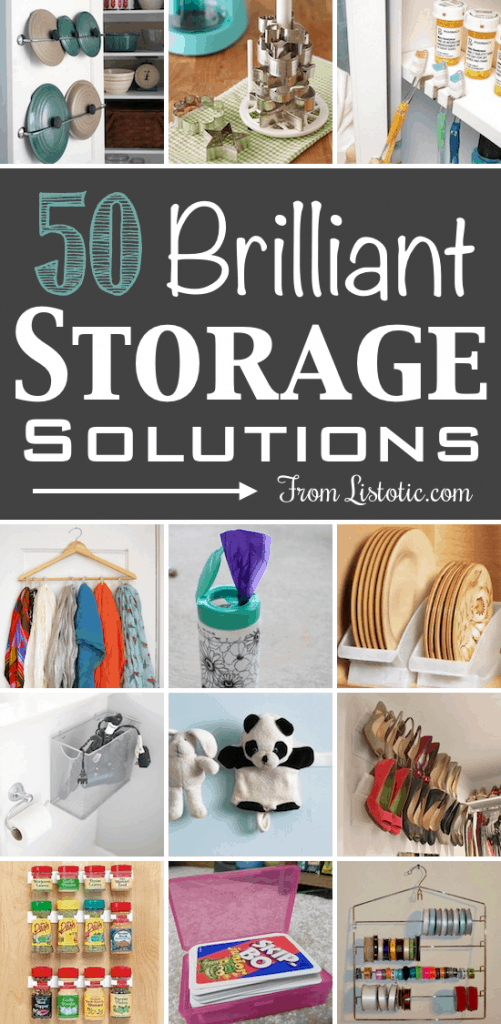 50 Brilliant Storage and Easy Storage Ideas For Your Home