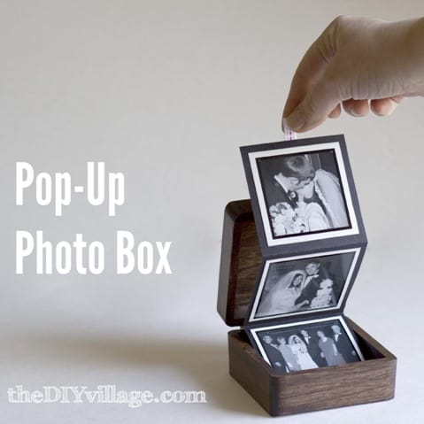 How to Make a DIY Pop Up Photo Box (Easy Gift Idea!)