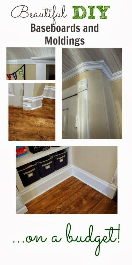 diy baseboards moldings featured