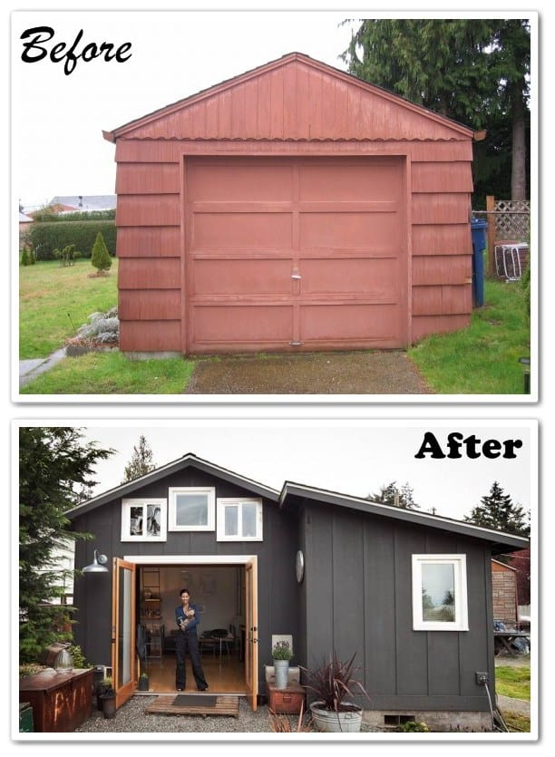 garage mini-house