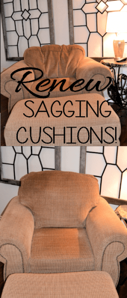 sagging cushions