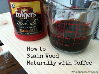 stain wood