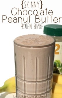 PB protein shake
