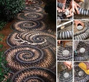 How-to-DIY-Spiral-Mosaic-Stone-Garden-Path