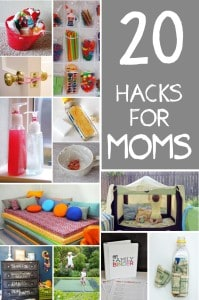 20-Home hacks for moms