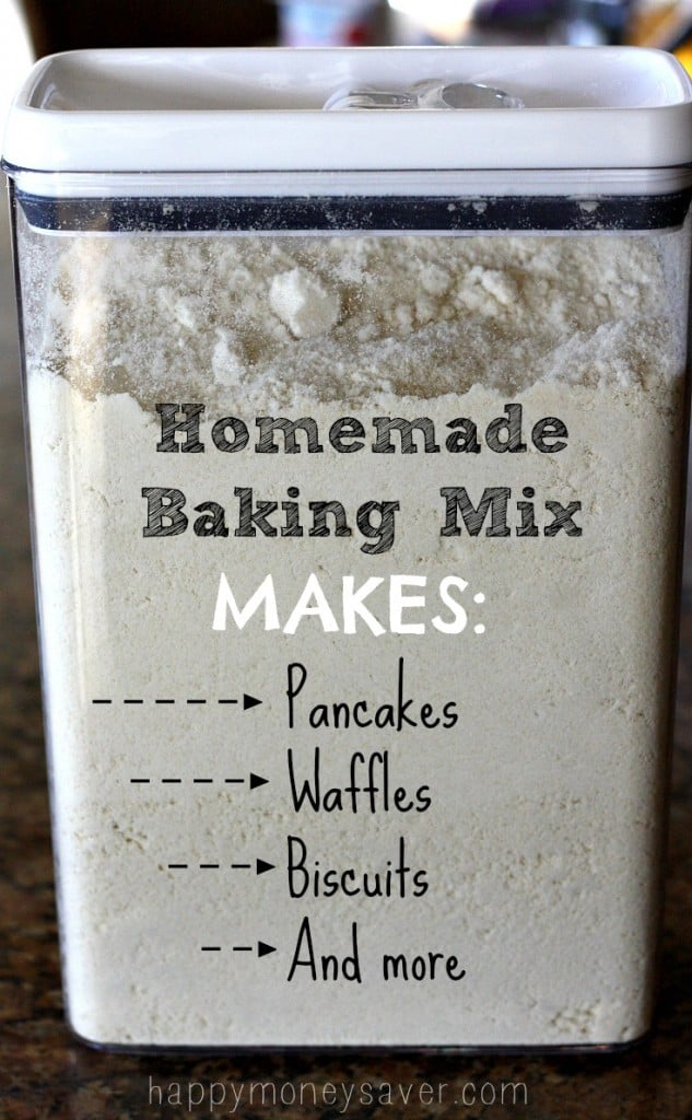 Homemade Baking Mix Recipe + More