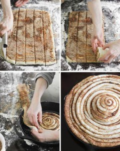 Cast Iron Skillet Cinnamon Roll Recipe