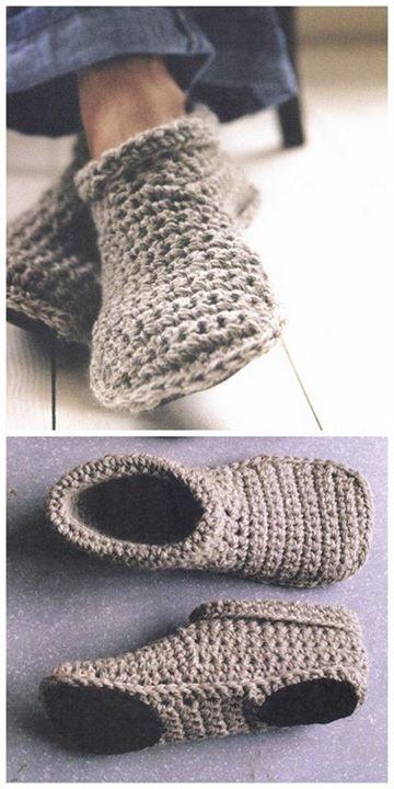 Handmade Cozy Crochet Slippers Project