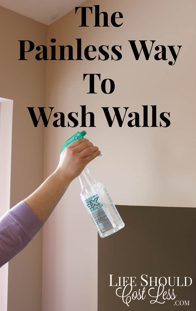 The Painless Way To Wash Your Walls