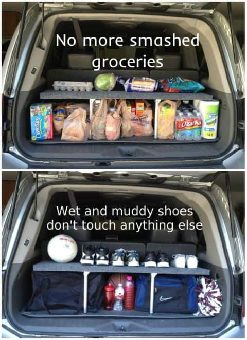organize everything in your car