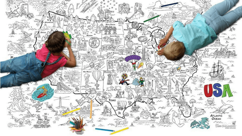 Giant Coloring Poster