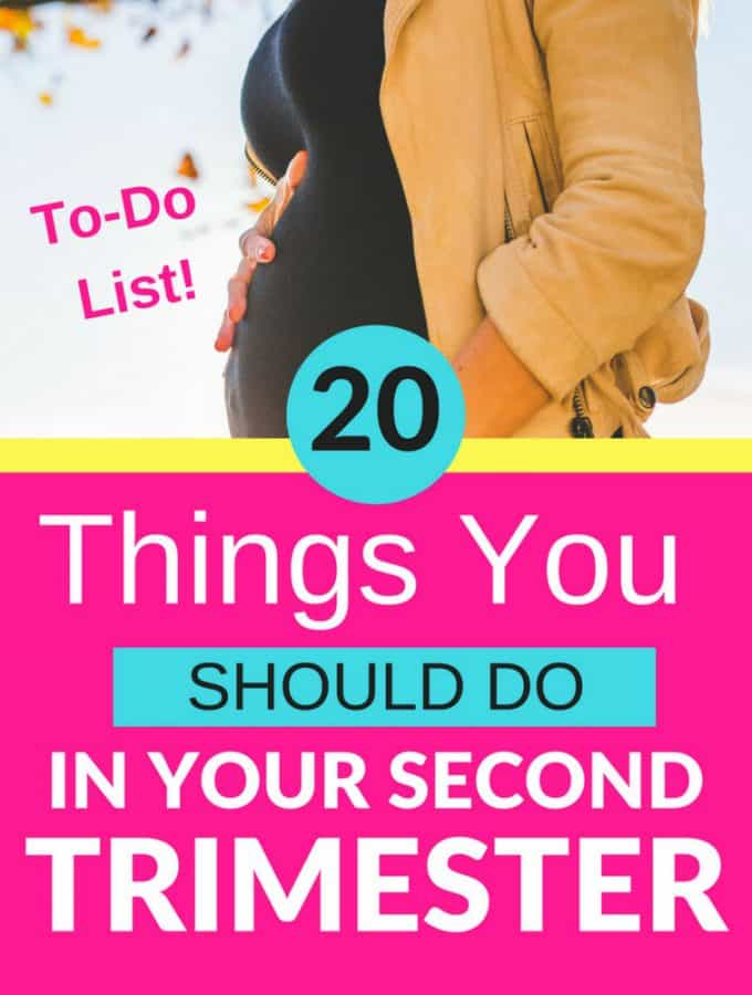 20 Things You Should Do In Your Second Trimester
