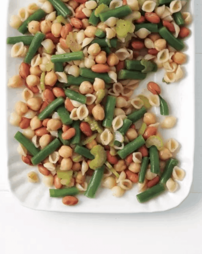 Three-Bean Pasta Salad - easy lunch idea for work