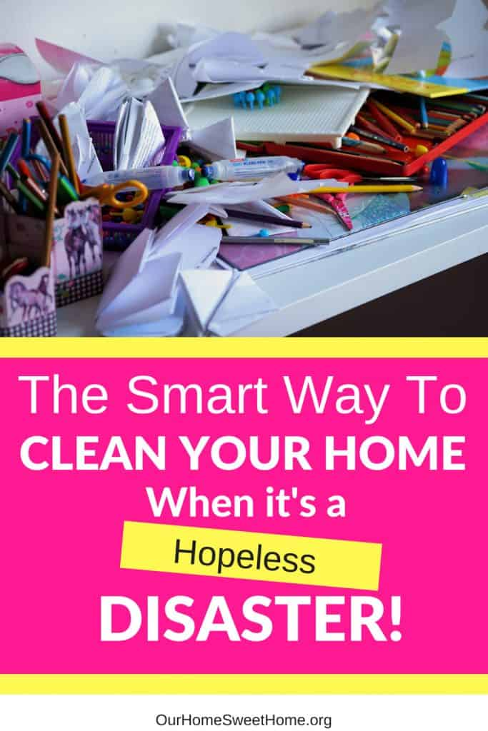 How to Clean Your Home When It's Untidy