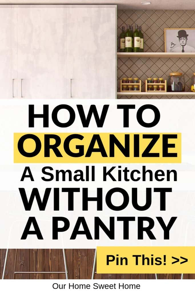 kitchen without a pantry