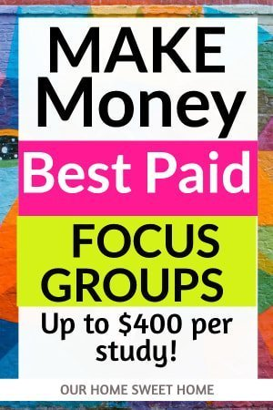 Best Paid Online Focus Groups in 2019 (Make Up To $400 Per