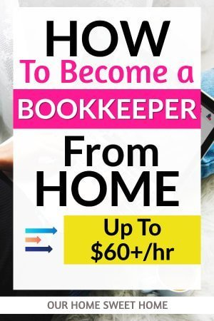 How to Become a Bookkeeper From Home , laptop