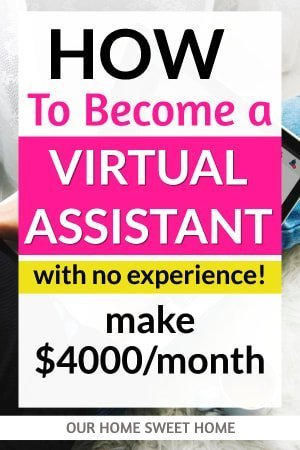 How to Become a Virtual Assistant - with no experience! , laptop