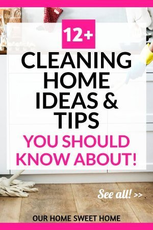 cleaning home ideas and tips , woman cleaning the kitchen floor