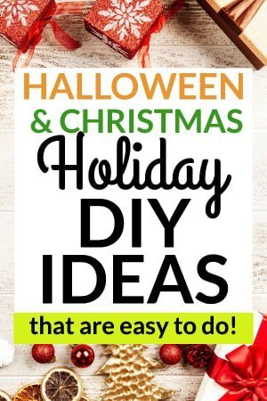 Halloween and Christmas Holiday DIY Ideas, wrappings
