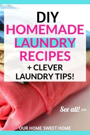 Homemade Laundry Detergent Recipes and Laundry Tips, clothes