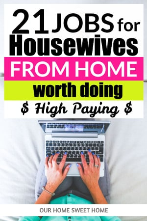 Jobs For Housewives From Home, girl on laptop