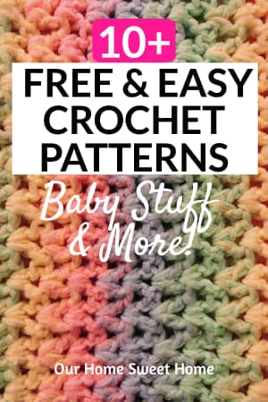 Free Easy Crochet Patterns - Colorful