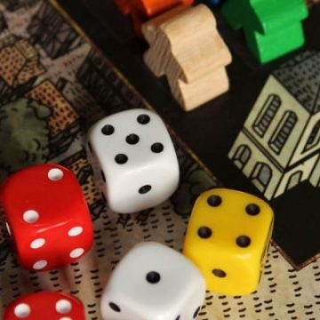 Best Board Games For 8 Year Olds, pic of dice