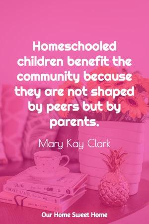 Mary Kay Clark saying