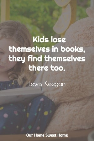 reading quotes for kids, Lewis Keagan quotation