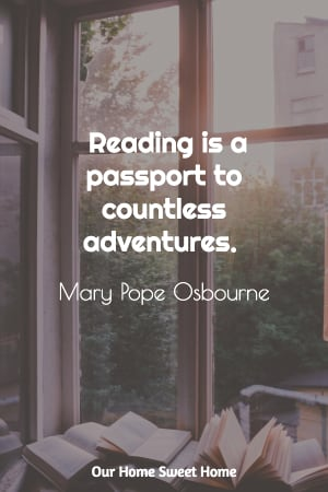 Mary Pope Osbourne quote, reading quotes for kids