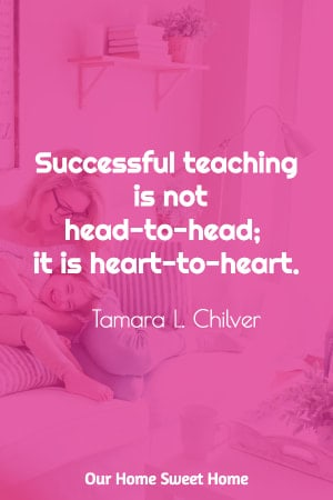 homeschooling quotation by Tamara Chilver